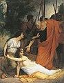 Fernand Lematte La mort de Messaline.JPG