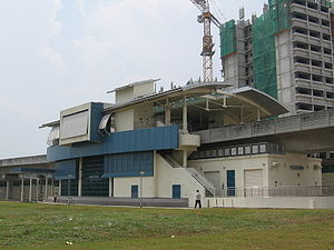 Fernvale LRT Station 3, Aug 06.JPG