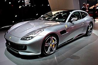 Ferrari GTC4Lusso - Image: Ferrari GTC4Lusso, Paris Motor Show 2018, IMG 0651