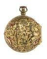 Fickur med boett av guld med figurscen i dekoren, 1700-tal - Hallwylska museet - 110436.tif