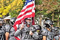 Fiestas Patrias Parade, South Park, Seattle, 2015 - 037 - Soldiers football team (21374395459).jpg