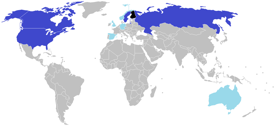 Finnish ancestry by country Finland More than 100,000 More than 10,000