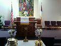 First United Christian Sanctuary Xenia ohio Communion table 2012.jpg