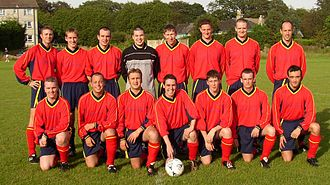 Douglas and District F.C. - Douglas and District in 2002, the first since the name change, and at the start of their best season to date