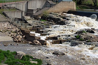 Fish ladder Aura river 2006.jpg