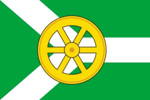 Uzlovsky District - Image: Flag of Uzlovsky rayon (Tula oblast)
