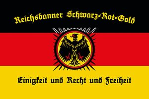 Reichsbanner Schwarz-Rot-Gold - Reichsbanner flag (2013)
