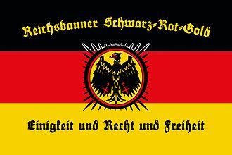 Reichsbanner Schwarz-Rot-Gold - Reichsbanner flag