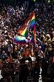 Flags flying for Paris Pride.jpg