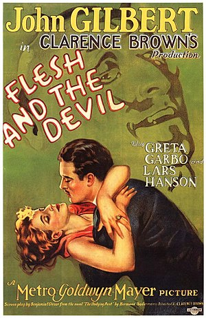Flesh and the Devil - Theatrical release poster