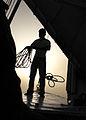 Flickr - DavidDennisPhotos.com - Deck Hand on Felucca in Luxor.jpg