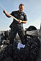 Flickr - Official U.S. Navy Imagery - Sailor assists a simulated injury..jpg