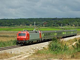 Comboios de Portugal - Image: Flickr nmorao IC 570, Alcácer, 2008.07.25