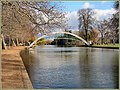Flickr - ronsaunders47 - Bedford suspension bridge over the River Ouse. Bedford..jpg
