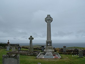 Flora MacDonald - Monument in Kilmuir Cemetery