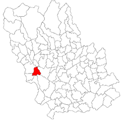 Vị trí của Floresti