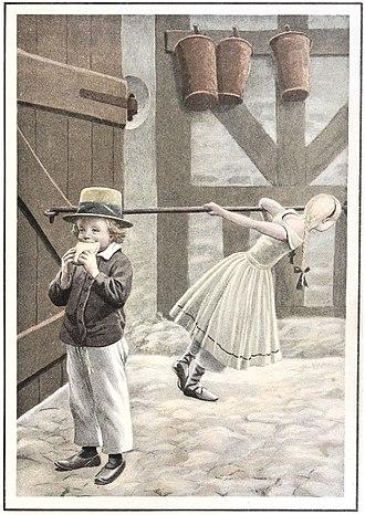 Alfred Schmidt (artist) - Image: Flugten til Amerika 2