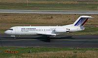 Fokker 70 Air Littoral DUS June 2002.jpg