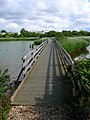 Footbridge, Pagham Lagoon - geograph.org.uk - 501337.jpg