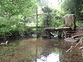 Footbridge over By Brook - panoramio.jpg
