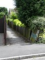 Footpath from A5127 to Gresley Close - geograph.org.uk - 830735.jpg