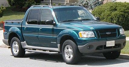 2001 Ford Explorer Sport Trac Xlt
