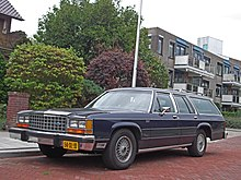 Ford Ltd Crown Victoria Station Wagon Lack Of A Hood Ornament And Woodgrain Trim Means This Is The Fleet Sales S Model Wheels Are Non Stock