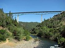 Foresthill Bridge @ American River Confluence April 27 2008.jpg