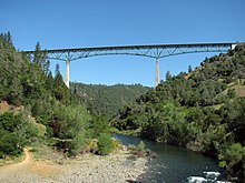 Foresthill Bridge @ American River Confluence April 27 2008.jpg