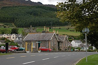 Carlingford, County Louth - Former railway station on the Dundalk, Newry and Greenore Railway.