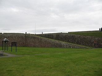 Fort George, Highland - Image: Fort George, Highland rampart