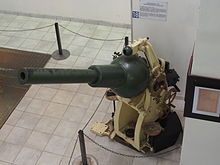 Fort de Fermont and its museum - Prototype No 2 of a 75mm cannon-mortar 1929 pic2.JPG
