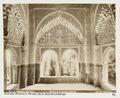 Fotografi av Granada. Alhambra, Mirador de la favorita Lindaraja - Hallwylska museet - 104838.tif