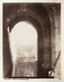 Fotografi på den gyllene porten i Jerusalem - Hallwylska museet - 104367.tif