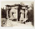 Fotografi på romerska tempelruiner i Balbek - Hallwylska museet - 104288.tif