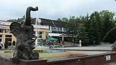 Fountain in Rabka