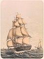 Frégate française la Minerve vers 1840.jpg