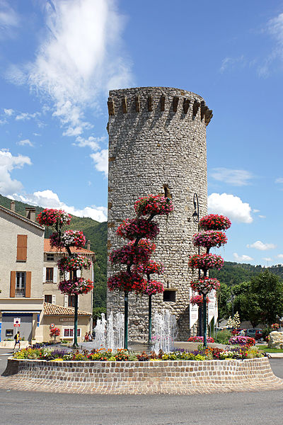 PLEASE, NO invitations or self promotions, THEY WILL BE DELETED. My photos are FREE to use, just give me credit and it would be nice if you let me know, thanks.  Bus shot.....  A well preserved tower of semicircular plan which was once part of the town walls of Sisteron.