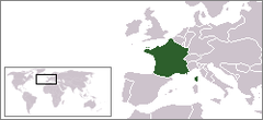 Kongeriget Frankrig 1848.