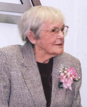 Frances Oldham Kelsey - Kelsey (age 87) at the FDA Reception commemorating her induction into the National Women's Hall of Fame