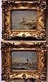 Francesco guardi (attr.), capricci rustici con torre su una riva e con rovine di ponte e torre, 1750-90 ca..JPG