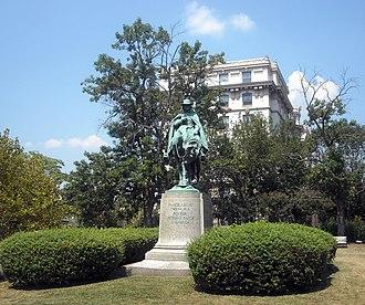 Francis Asbury -  Francis Asbury Memorial