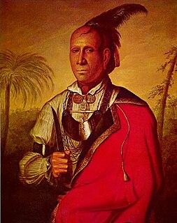 Conocotocko II Cherokee leader