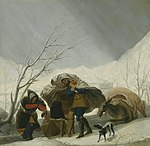 Francisco José de Goya y Lucientes - Winter Scene - 1990.558 - Art Institute of Chicago.jpg
