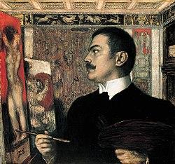 Franz von Stuck Selbstbildnis im Atelier.jpg