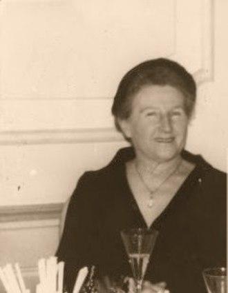 Eva Braun - Eva's mother, Franziska Braun