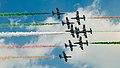 Frecce Tricolori NL Air Force Days (9288701321).jpg