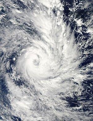 2012–13 Australian region cyclone season - Image: Freda Dec 29 2012 0245(UTC)