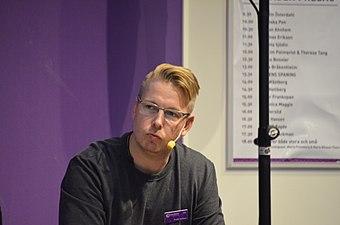 Fredrik Backman Bokmässan Göteborg 2017.jpg