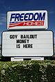 Freedom Homes, Government Bailout Money (3473264448).jpg